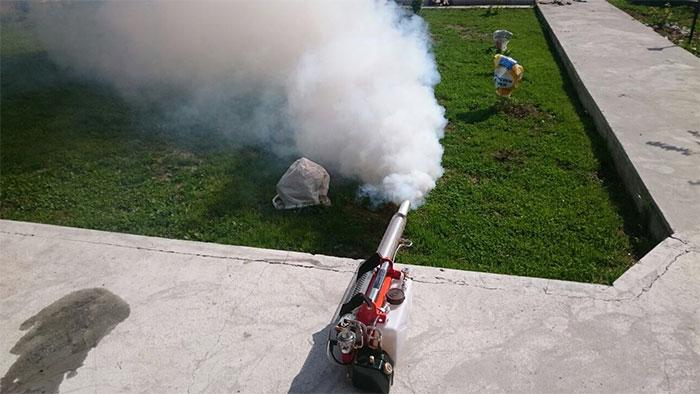 уничтожение комаров в Челябинске